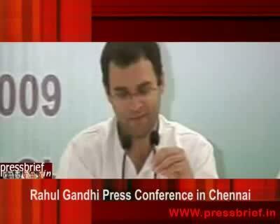 Rahul Gandhi in Chennai (05),10 Sep 2009
