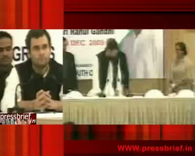 Rahul Gandhi in Lucknow Part I, 08th December 2009