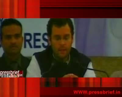 Rahul Gandhi in Lucknow Part III, 08th December 2009