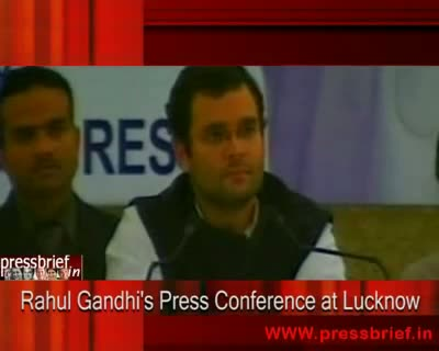 Rahul Gandhi in Lucknow Part IV, 08th December 2009