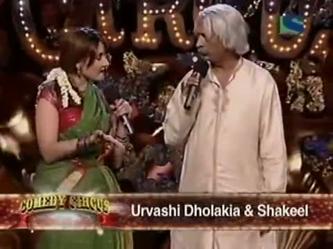 Shakeel Siddiqui&urvashi comedy circus
