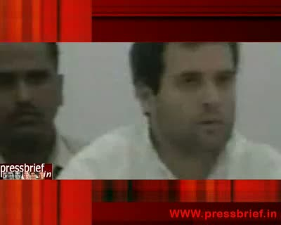 Rahul Gandhi in Bhopal (MP) Part 01,6th October 2010
