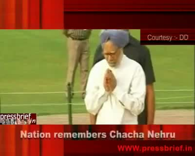27th May 2010 Nation remembers Chacha Nehru