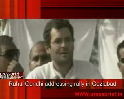 Rahul Gandhi in Ghaziabad 30th April 2009
