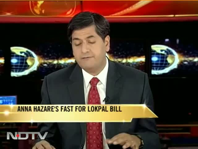Anna Hazare's fast for Lokpal Bill