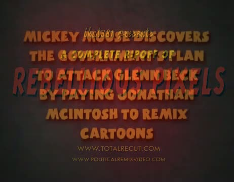 Mickey Mouse Discovers the Government Cartoon Conspiracy Against Glenn Beck Video