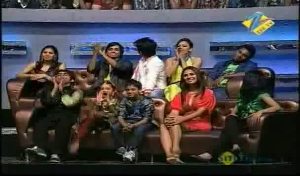 Mayuresh and  Puneet face of Dnace ke superstar 30 april 2011