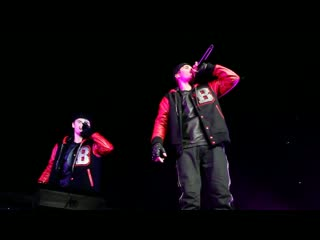 Look At me Now - Justin Bieber and Chris Brown - Sydney Australia Surprise