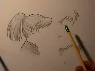How to Draw Manga Faces in Profile Three Ways Video