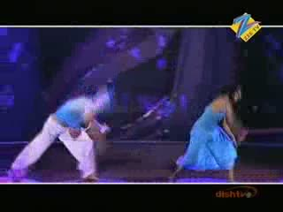 Amar and Kruti kathak and contemporary act on thee thee song 6th May 2011 - Dance Ke Superstars