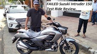 FAILED Suzuki Intruder 150 Test Ride Review.