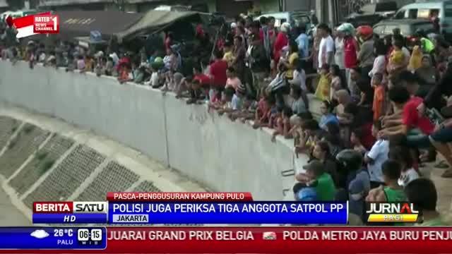 Polisi Tetapkan 2 Tersangka Kericuhan di Kampung Pulo
