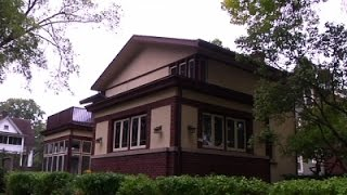 Frank Lloyd Wright House Rediscovered