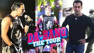 Akshay Kumar & Salman Khan DABANG Tour Connection - Revealed
