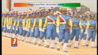 Governor Narasimhan Flag Hoisting At 68th Republic Day Celebrations At Hyderabad | iNews