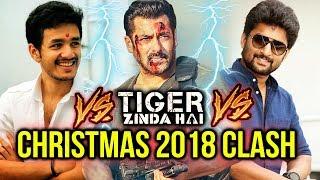 Salman Khan's Tiger Zinda Hai To CLASH With 2 Telugu Films MCA And Hello