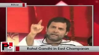 Stop lying, start working - Rahul Gandhi tells PM Modi in Bihar Politics Video