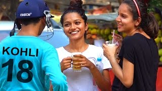 Virat Kohli Picking Up Cute Girls IPL 2017 Prank in India