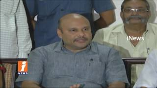 Minister Sujay Krishna Ranga Rao Fires On Opposition Parties Over Visakha Land Scam   iNews