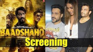 Baadshaho Movie Screening | Ajay Devgn, Emraan Hashmi, Ileana D'Cruz