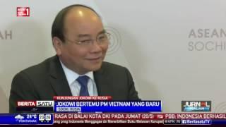 Presiden Jokowi Bertemu PM Vietnam di Rusia