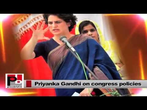 Priyanka Gandhi -- an energetic, progressive mass leader who easily strikes chord with masses