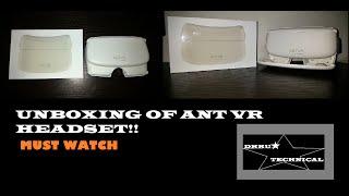UNBOXING OF  LENEVO ANT VR HEADSET!!!