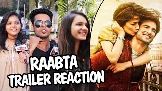 RAABTA Trailer Reaction | Public Review | Sushant Singh Rajput, Kriti Sanon