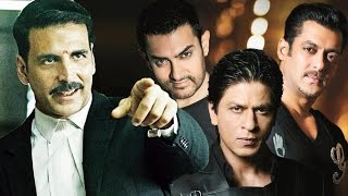Akshay Kumar DEFEATS Shahrukh, Salman & Aamir Khan - Watch Out