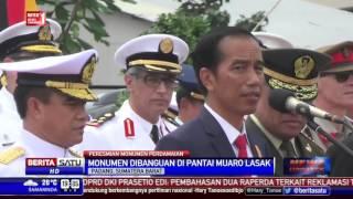 Jokowi Resmikan Monumen Merpati Perdamaian