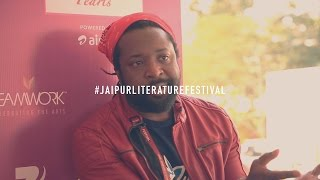 JLF2016 - Booker Prize winner Marlon James on being Jamaican, Black and Gay