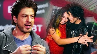 Shahrukh Will Rip Off Son Aryan's Lip If He Kissed A Girl