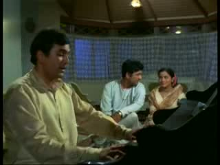 Maine Tere Liye Hi Saat Rang Ke  singing by shri Mukesh from the movie Anand