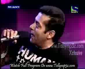 Entertainment Ke Liye Kuch Bhi Karega 6th June 2011 Part 2 season 4 salman khan dance with a little child in dhinka chika song