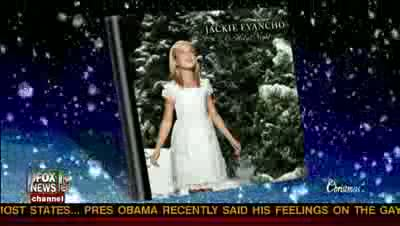 Jackie Evancho Fox and Friends in HD singing Silent Night