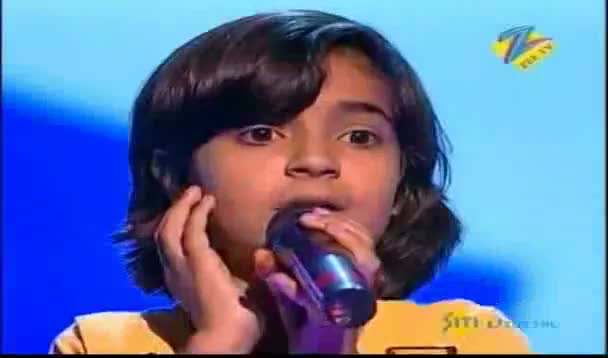 Saregamapa L'il Champs 2011 Mega Audition June 11-2011 - Sanjana Bhola