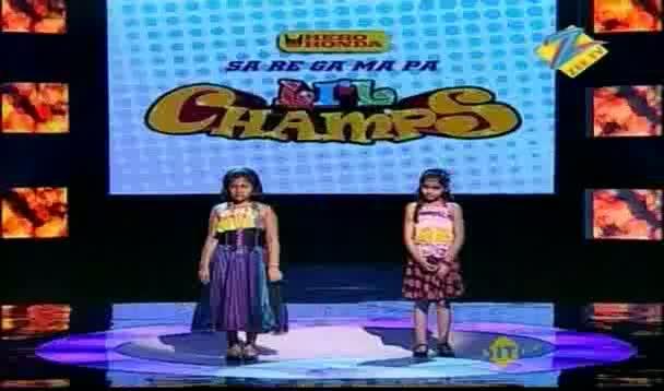 Saregamapa L'il Champs 2011 Mega Audition June 11-2011 - Top 9 Girls