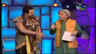 Comedy Circus ke Tansen 19th June 2011 Part 1 - Krushna As Yamraj And Sudesh Lehri As Various Characters