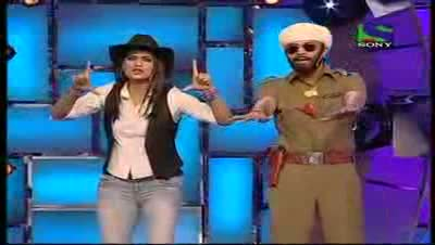 Comedy Circus ke Tansen 19th June 2011 Part 4 - Shweta Tiwari As Casting Director And Rajeev Thakur As Actor