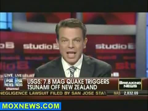 7.8 Earthquake Triggers Tsunami Headed For New Zealand.