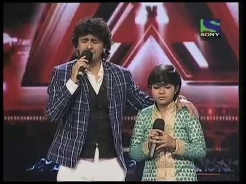 Sonu Nigam sings a blissful Kabhi Alvida Na Kehna- X Factor India - Episode-17 (9th-July-2011)
