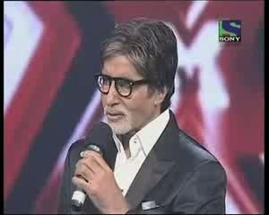 Amitabh Bachchan's special message for Peace-    X Factor India    Episode 20   22nd Jul 2011