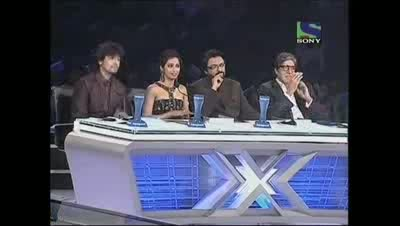 Deewana Group's medley tribute to Amitabh Bachchan-  X Factor India    Episode 20  22nd Jul 2011