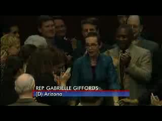 Rep. Gabrielle Giffords returns to Washington