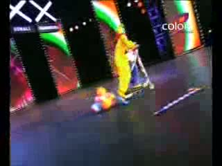 India's Got Talent Season 3 - Prajwal, a dynamite dancer (5th-august-2011)