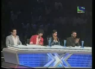 Geet Sagar's amusing act on Aake Seedhi Lagi- X Factor India - Episode 25 - 6th Aug 2011