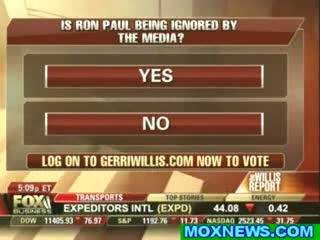 Ron Paul Being Ignored by the Media- The Whole World Knows It!