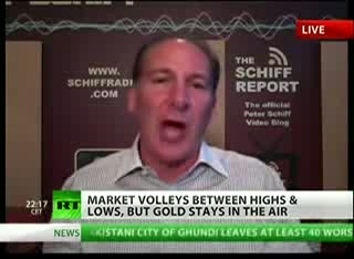 PETER SCHIFF- GOLD PRICE GOING HIGHER- NO CEILING