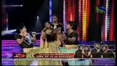 Nirmitee's delightful performance on Laila O Laila- X Factor India - Episode 28 - 19th Aug 2011