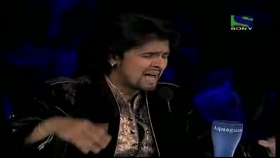 Sonu Nigam imitates Usha Uthup on her hit Ramba Ho- X Factor India - Episode 29 - 20th Aug 2011
